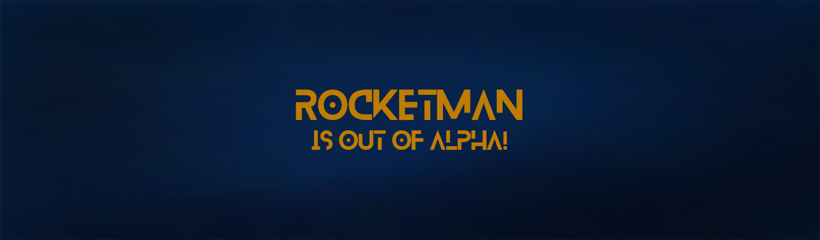 Rocketman out of alpha